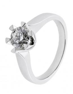 Diamantring 0,43 ct.