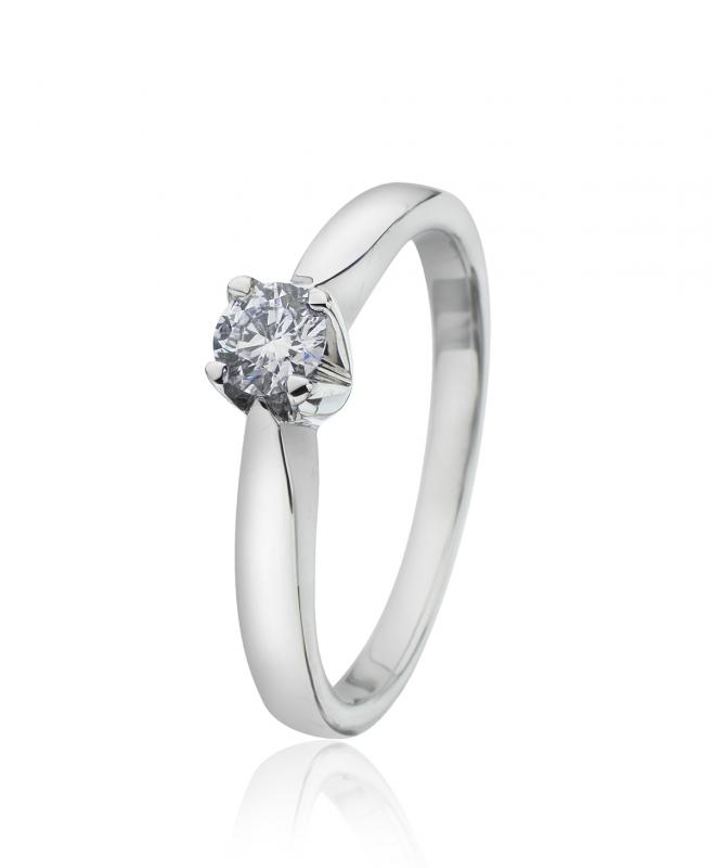 Diamantring 0,30 ct.