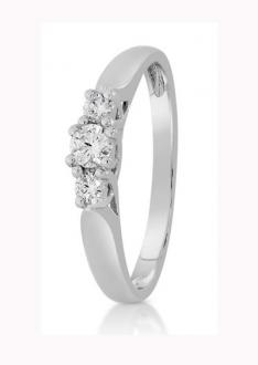 Diamantring 0,25 ct.