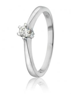 Diamantring 0,15 ct.