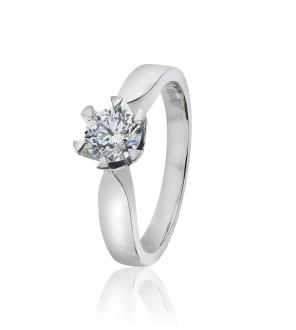 Diamantring 0,70 ct.