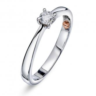 Perfect Kiss - Solitaire diamantring