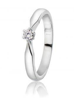 Diamantring 0,10 ct.